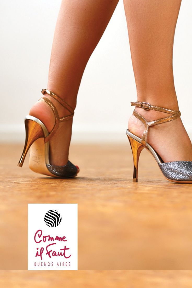 Stunning High Heel Dancing Shoes for Tango, Salsa and Bachata Handmade by Comme il Faut!