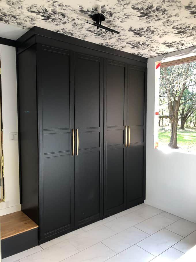 Diy Built In Ikea Pax Wardrobes Stroitelstvo Tualeta Ikea