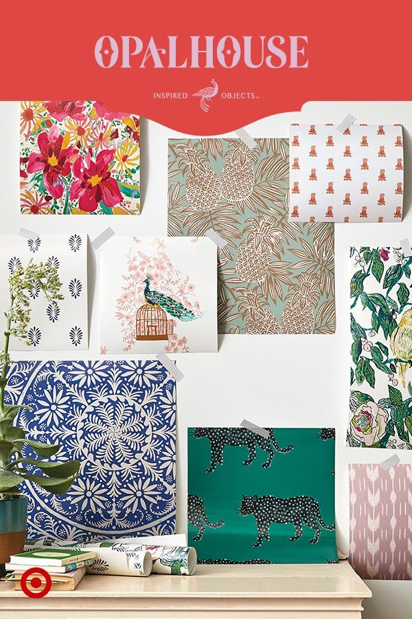 Removable wallpaper from Opalhouse is just 29.99, i.e