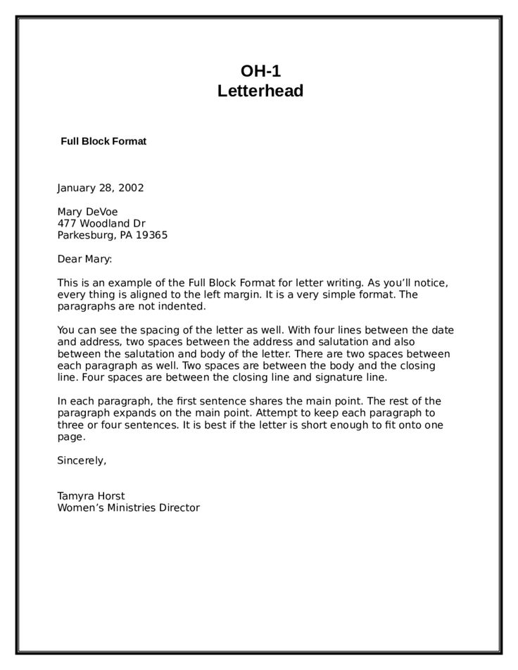 The 25+ best Format of formal letter ideas on Pinterest Formal - sample closing a business letter