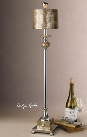 Found it at Clockway.com - Pearl Silver Buffet Lamp - LUT7118