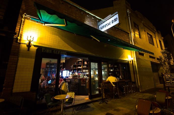 Bank Corner Cafe. Newcastle West End, NSW Australia #bar #cafe #restaurant www.hunterhunter.com.au