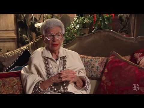 There's people you just know about and people you must know about...Fashion Icon Iris Apfel !!!