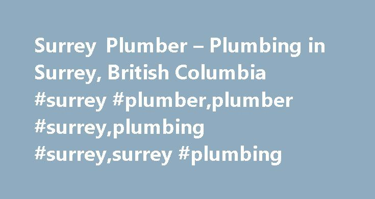 Surrey Plumber – Plumbing in Surrey, British Columbia #surrey #plumber,plumber #surrey,plumbing #surrey,surrey #plumbing http://long-beach.remmont.com/surrey-plumber-plumbing-in-surrey-british-columbia-surrey-plumberplumber-surreyplumbing-surreysurrey-plumbing/  # SURREY PLUMBER As a home owner you are aware of how beneficial it can be to have a plumbing company on-call in the event of an emergency. Whether you require an immediate pipe replacement or are simply looking to have a new toilet…