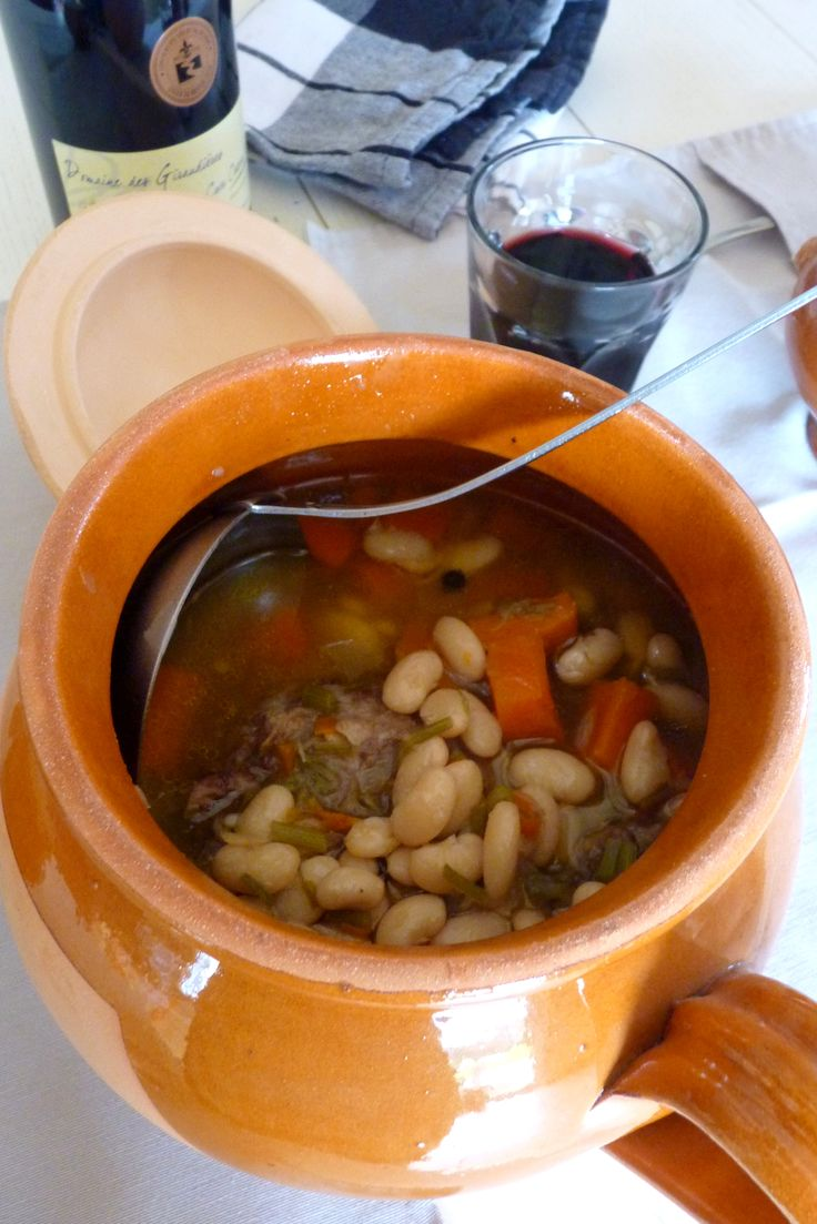 Soupe de queue de b�uf � la mogette