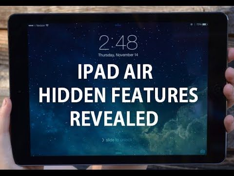 40+ Tips and Tricks for the iPad Air 2