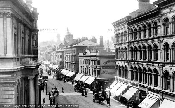 Birmingham, New Street 1896, from Francis Frith