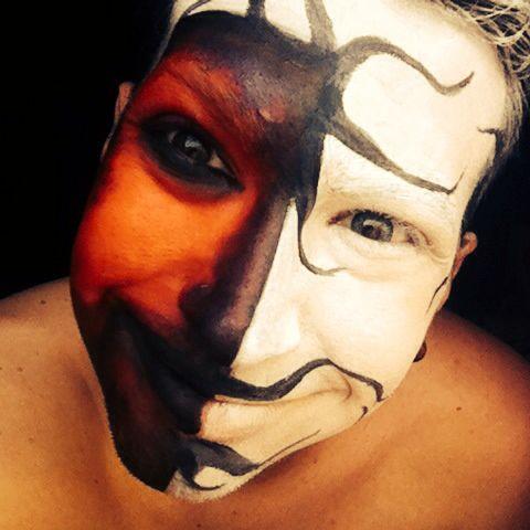 Make up scary caracterización