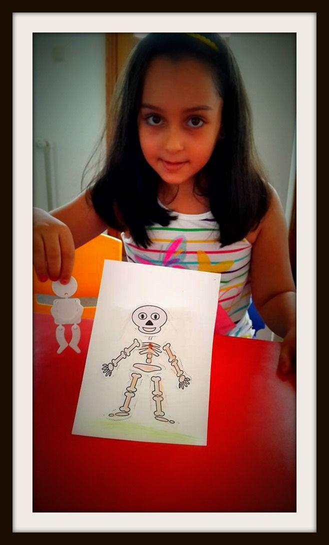 Skeleton Dance...#CME4K Sadece çocuklar (Okul Oncesi - Ilkokul - Ortaokul) için İngilizce dil kursu İzmir