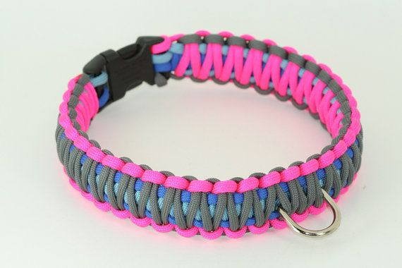 Life Survival 550 Paracord Braided Dog Collar Choose 4 by CordMe, $30.00
