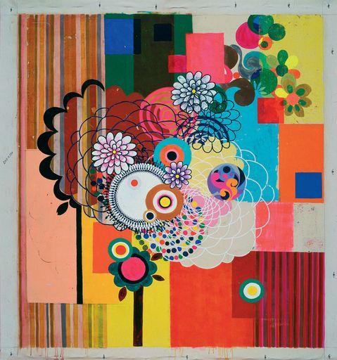 Beatriz Milhazes peintre du Brésil