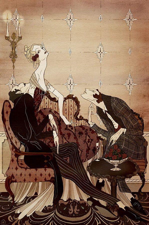 Kate Baylay Illustration for Seven Gothic Tales