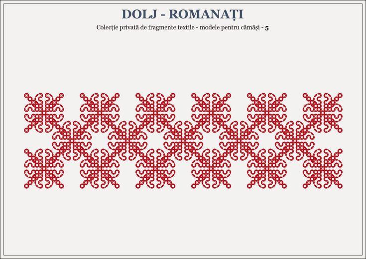 Semne Cusute: romanian traditional motifs - OLTENIA, Dolj & Romanati