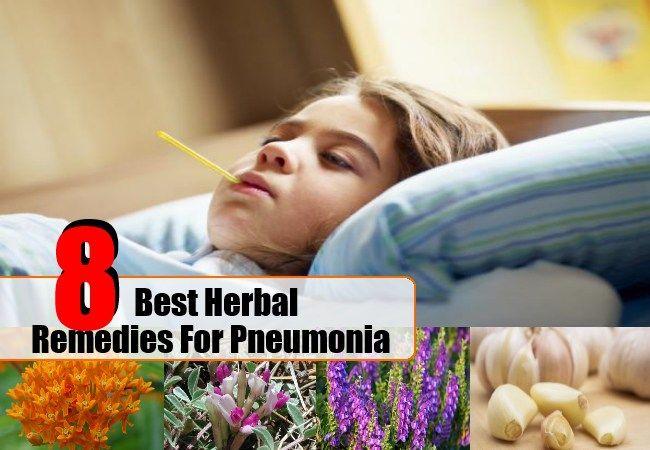 Remedies For Pneumonia