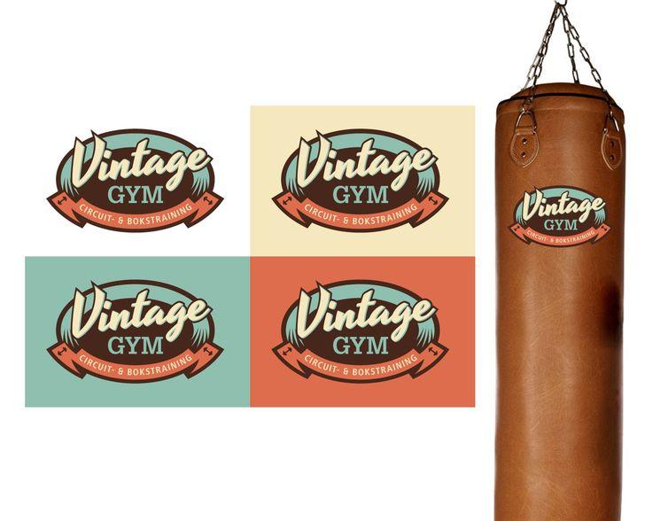 Logo ontwerp Vintage Gym