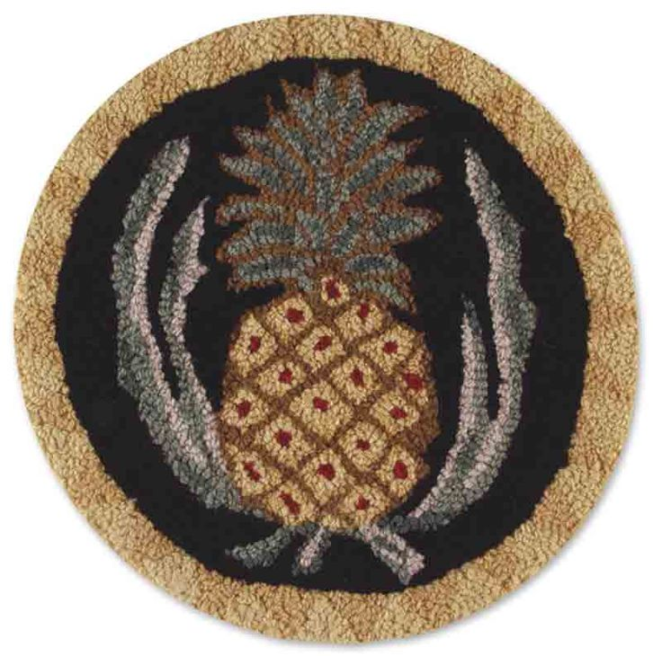 """If you have been searching for that little extra """"something"""" to enhance the overall beauty of your cabin, lodge, or rustic home then these chair pads are a must. Designed by famed Vermont folk artist"""