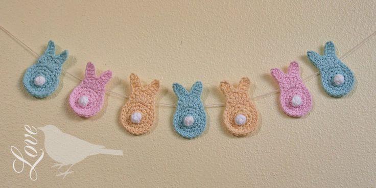 Love The Blue Bird: crochet Spring bunnies...free pattern