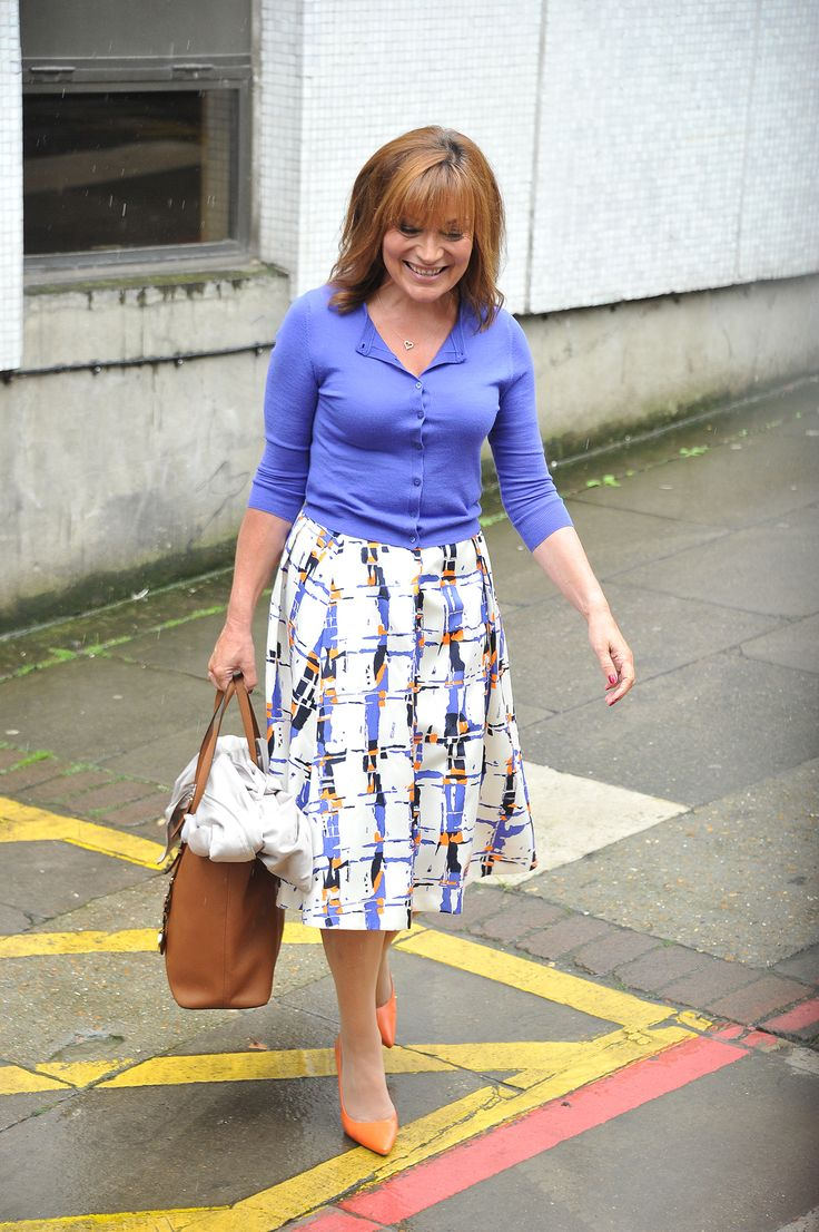 Lorraine Kelly – itv Studios London 01.09.15