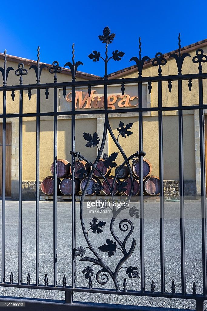 News Photo : Bodegas Muga winery at Haro in La Rioja province...