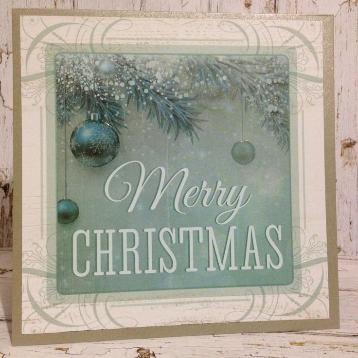 Christmas Card by Greeting Grub Cards made using Kaisercraft Silver Bells Collection