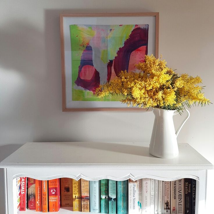 Pretty flowers and books x