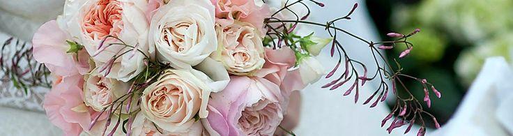 Rozen blijven mooi voor een trouwboeket. Helemaal hip zijn de pastel kleuren.