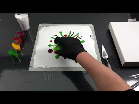 Acrylic casting – Easy Dip Flower Technique – YouTube