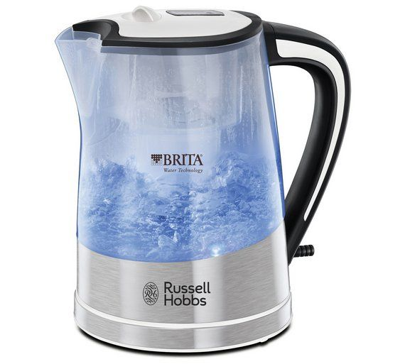 buy russell hobbs purity brita filter clear plastic kettle 22851 at argos  co uk the 25  best brita kettle argos ideas on pinterest   brita glass      rh   pinterest nz