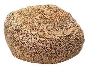 Jungle Cat Safari Bean Bag Chair Size: Small / Toddler