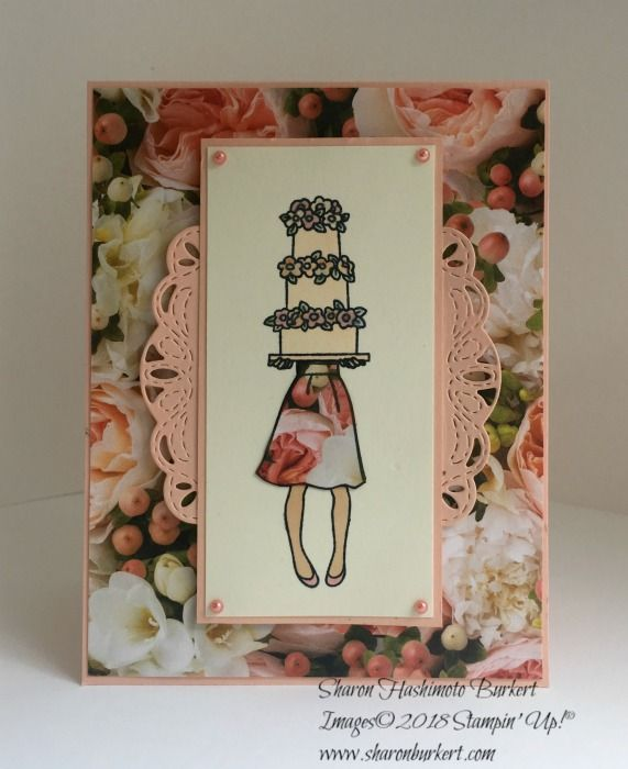 Hand Delivered And The Create With Connie And Mary Challenge Stampin Up Wedding Cards Stampin Up Birthday Cards Cards Handmade