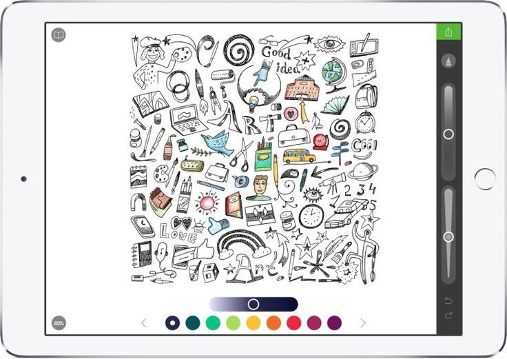 6 Apple Pencil Apps For People That Don T Draw Apple Apps Dont Draw Pencil People Apple Pencil Apps Coloring Book App Apple Pencil Drawing