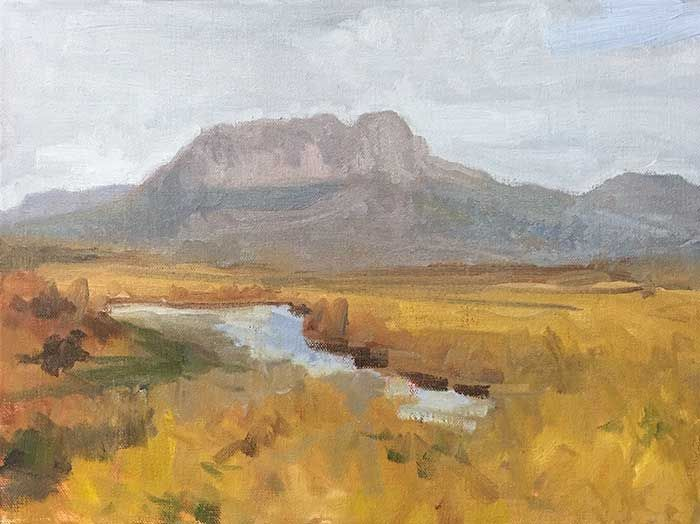 Landscape Painting Tutorial Painting The Overland Track Using Oils Landscape Paintings Painting Oil Painting Background