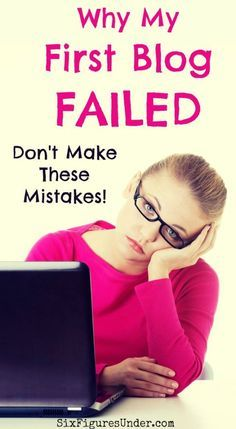 I don't talk much about my first attempt to make money blogging. Why? Because it was a failure. A complete flop! I pretty much did everything wrong. Thankfully, what I learned from my failed blog has helped me succeed with my current blog. Don't make these mistakes! See what has made all the difference!