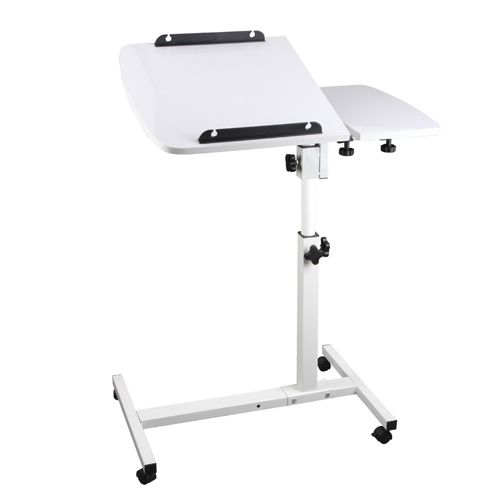 Made of sturdy steel construction with a piano lacquer finish; featuring a sleek and stylish design with great functionality, the 360° Rotating Laptop Stand will also make ideal furniture upgrade for your home.  http://www.rosaelonline.com.au/product/rotating-mobile-laptop-adjustable-desk-white-2/
