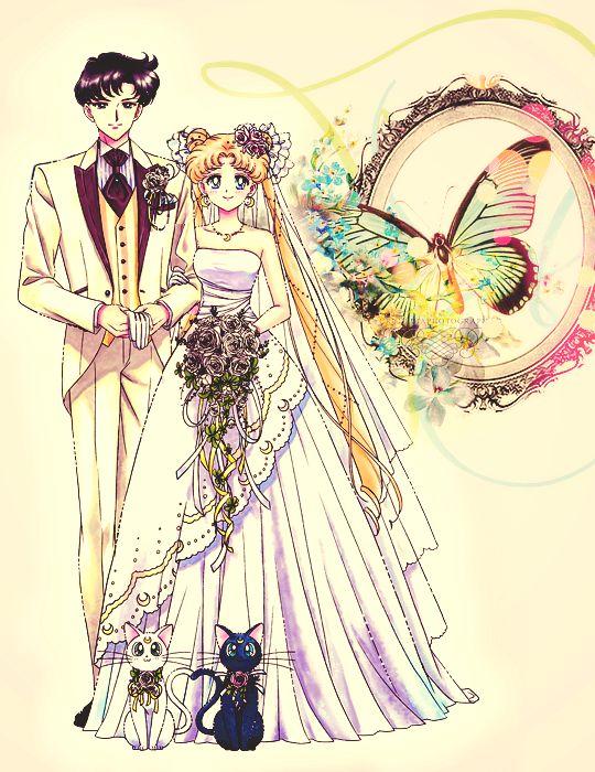 Mamoru Chiba and Usagi Tsukino ♡ Sailor Moon  Moonlight Symphony