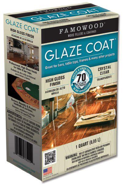 Famowood 174 Glaze Coat Clear Epoxy Quart Kit My Paint