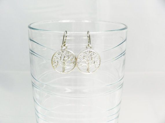 Titanium earrings  Antique Silver colour by TidesEarringDesign