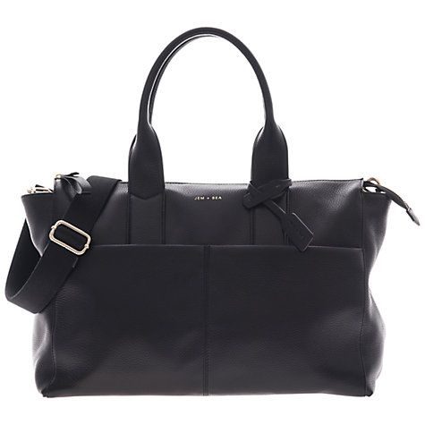 Buy Jem   Bea Jemima Tote Changing Bag, Black Online at johnlewis.com