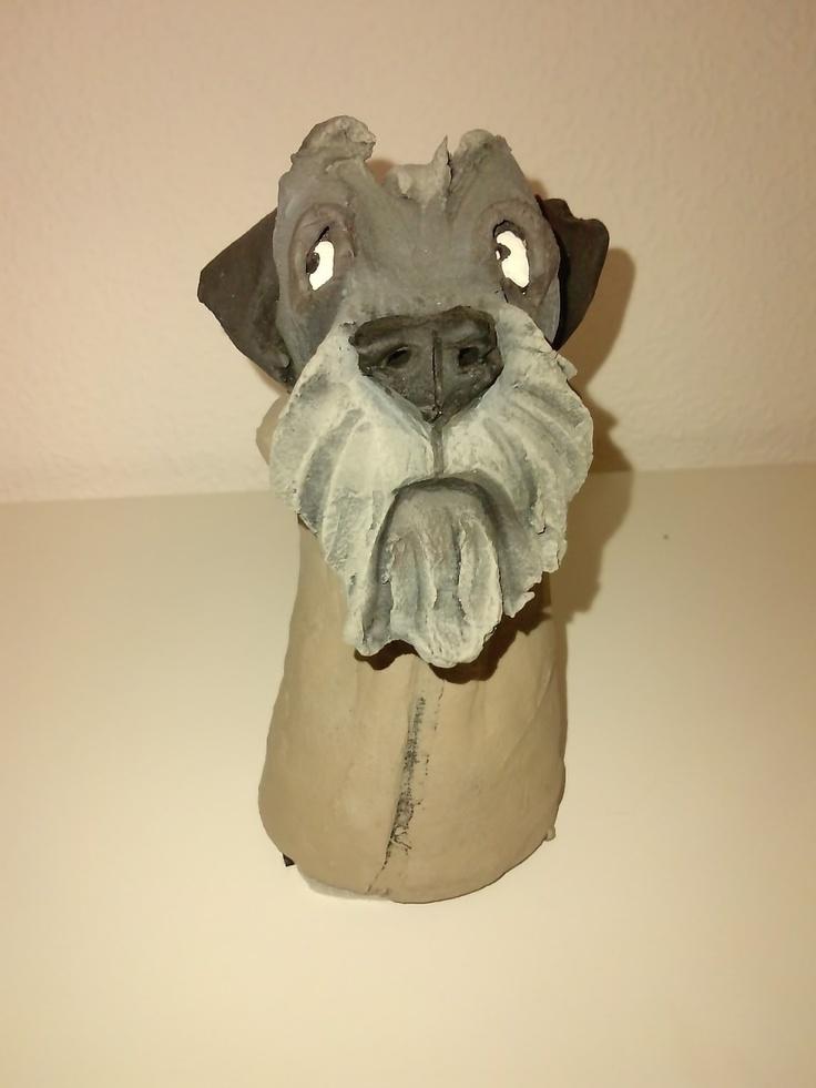 Ceramic dog by Olivia Brown