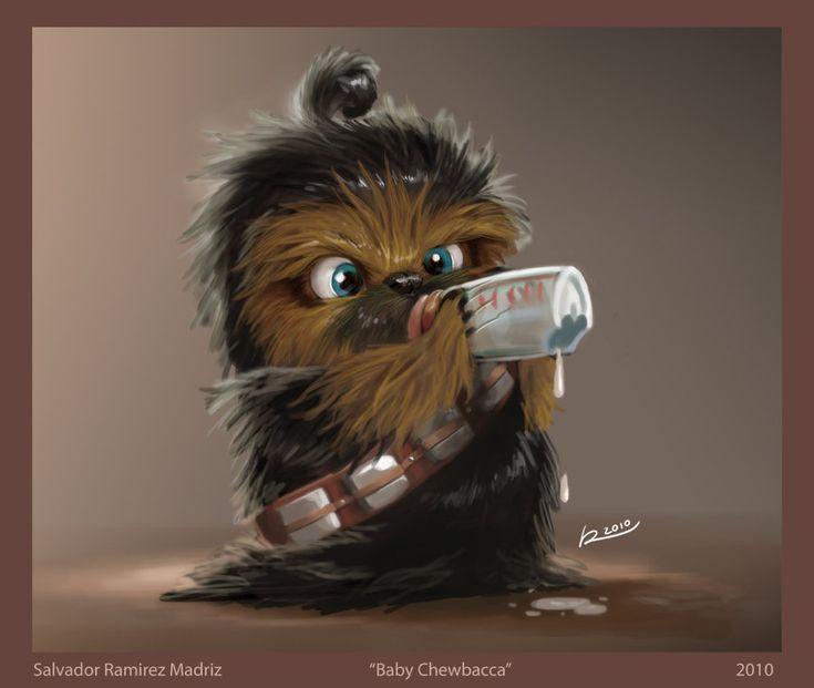 """""""Baby Chewbacca"""" by Salvador Ramirez Madriz"""