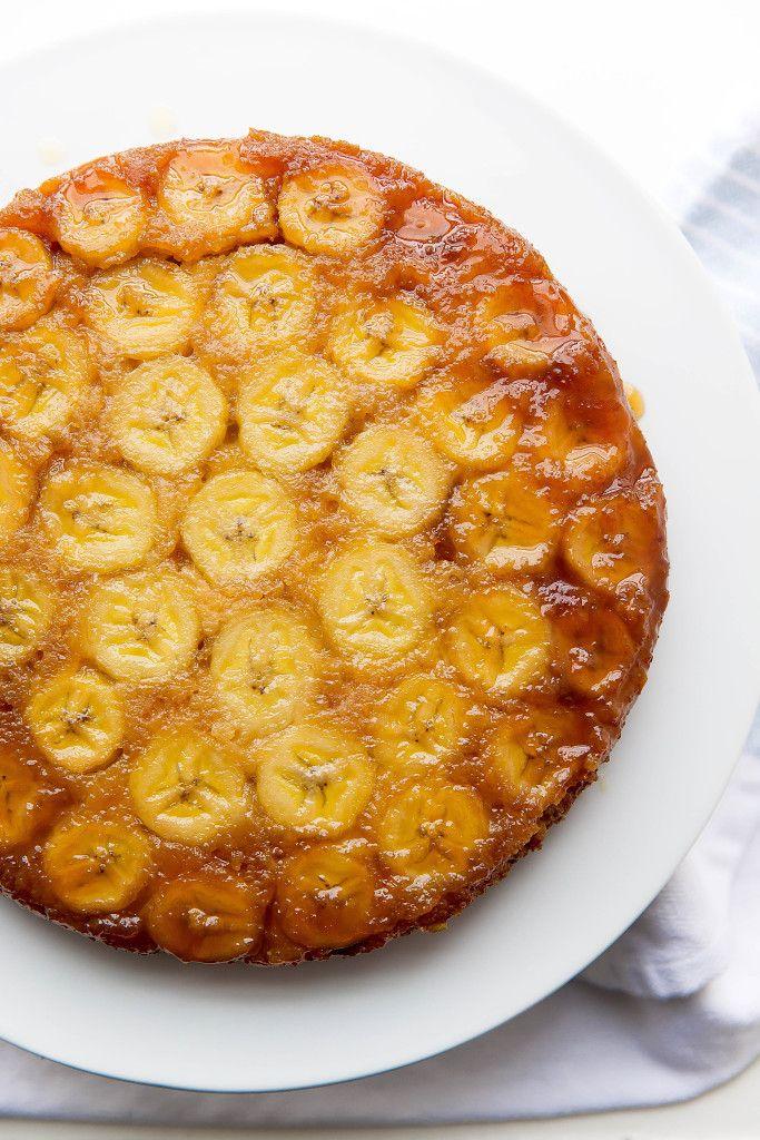 Caramelized Banana Upside Down Cake