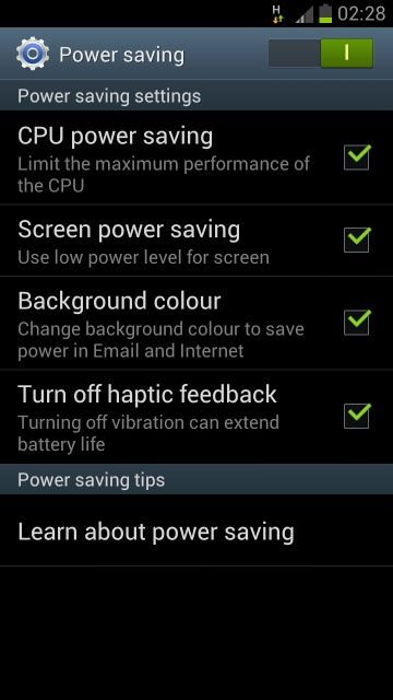 How to maximize your Samsung Galaxy S3's battery life    Samsung's latest Android smartphone comes with all kinds of appealing features, but each one can put a strain on the phone's battery. Here are some tips for eking out a little more battery life from the S3.