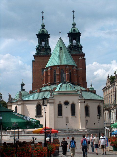Ancient Polish capital city of Gniezno, Poland