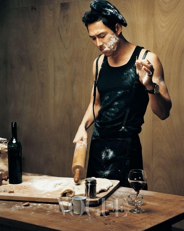 Lee Jung-jae // Vogue Korea // April 2007