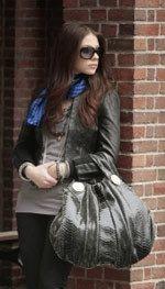 Georgina Sparks played by Michelle Trachtenberg on Gossip Girl