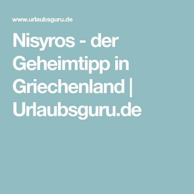 Nisyros - der Geheimtipp in Griechenland | Urlaubsguru.de