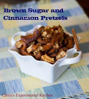 Brown Sugar and Cinnamon PretzelsCarrie's Experimental Kitchen  