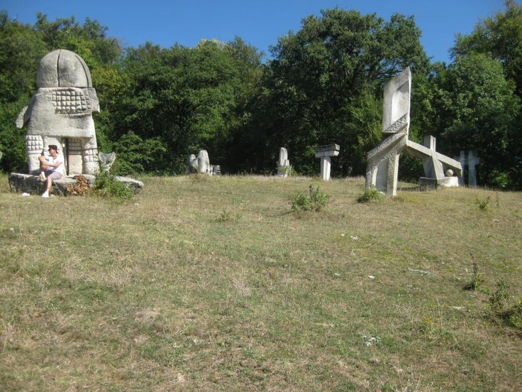 Tabara de sculptura Magura, un loc unic in Romania
