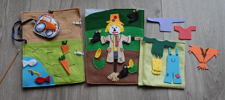 Quiet Book: Fall-scarecrow