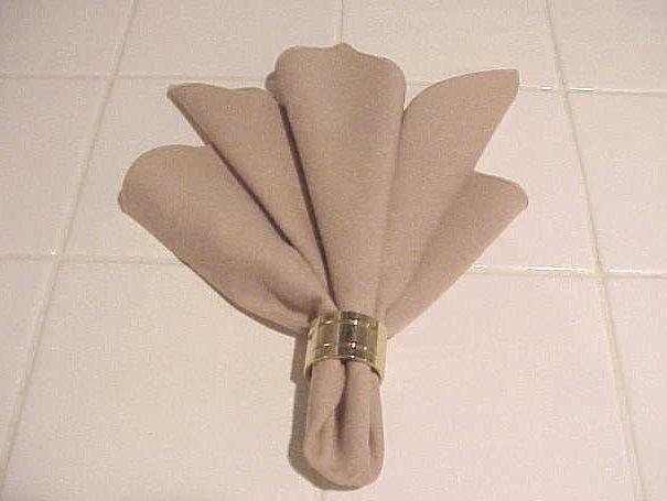 1000 Images About Napkin Fold On Pinterest Natal
